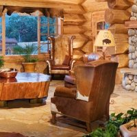 A dreamy log home in california interior design magazines for California home and design magazine