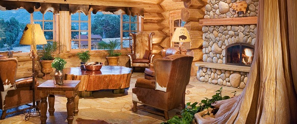 A dreamy log home in California A dreamy log home in California California Luxury Home LR1  Home California Luxury Home LR1