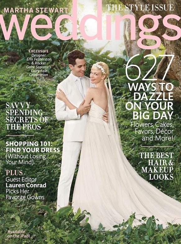 Martha Weddings Fall Cover Top 5 Best Wedding Magazines