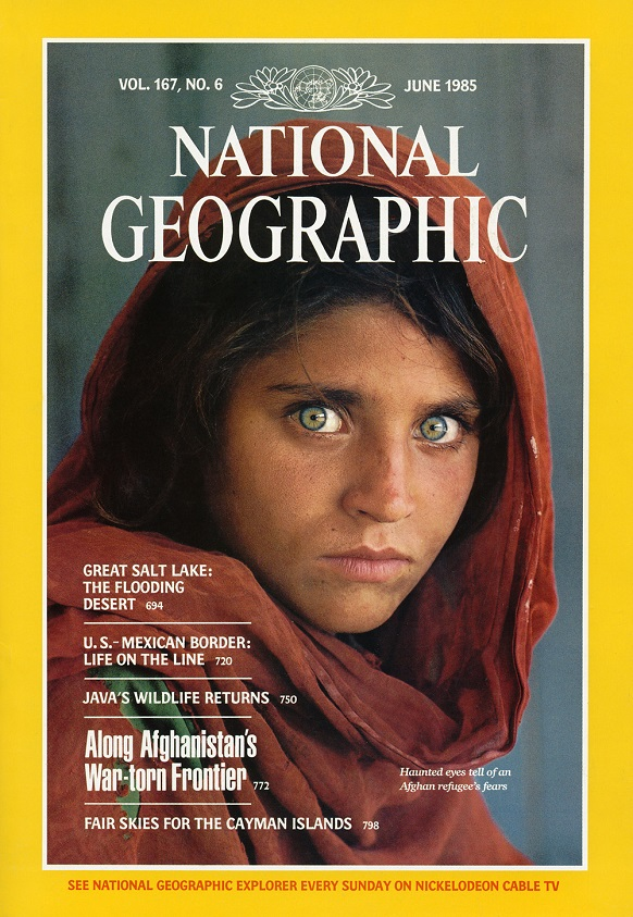 Best magazine covers | National Geographic  June 1985