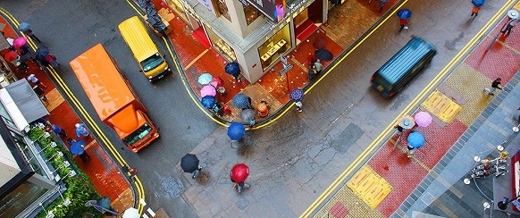 """National Geographic's photo of the day"":27th December - Street Colors 