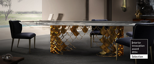 Best design shows: brands to watch at IMM and M&O 2014 Best design shows: brands to watch at IMM and M&O 2014 koi dining table interior innovation award 2014 imm cologne mydesignweek1  Home koi dining table interior innovation award 2014 imm cologne mydesignweek1
