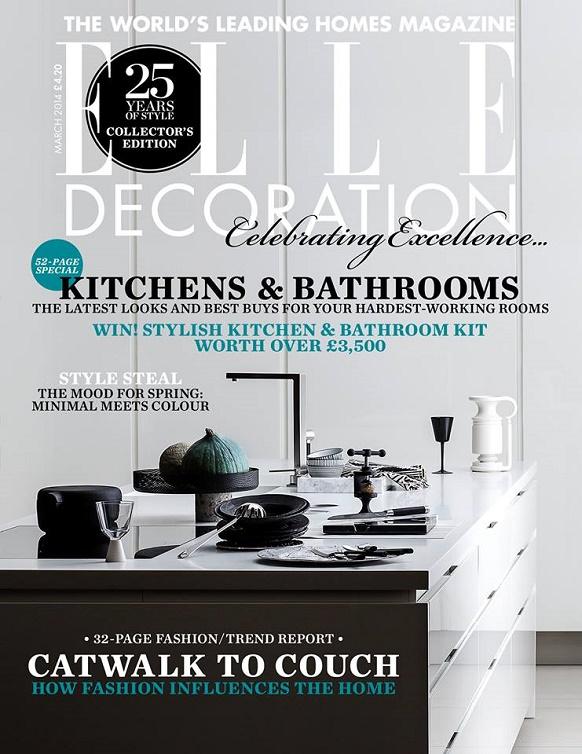 """Sneak peak at the best interior design magazines: March issues"""
