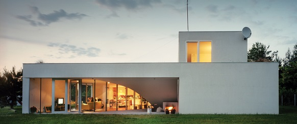 Design around the world: modern rural getaway home in Poland Design around the world: modern rural getaway home in Poland perkowski residence exterior1