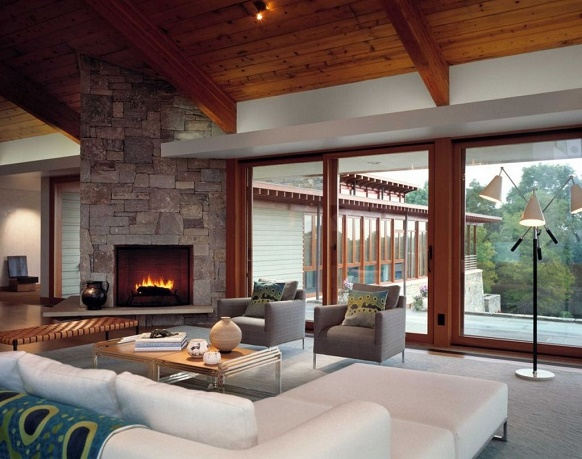 """""""Things to do in your home this month - tips by Elle Decor"""" Things to do in your home this month - tips by Elle Decor Things to do in your home this month – tips by Elle Decor modern living room with fireplace 2"""