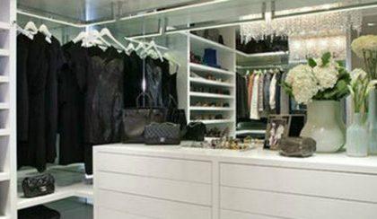 10 Desirable Closets on Pinterest by Elle Magazine