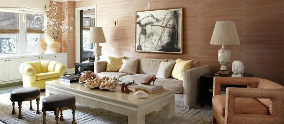 Cameron Diaz Manhattan Makeover in Elle Decor by Kerry Wearstler