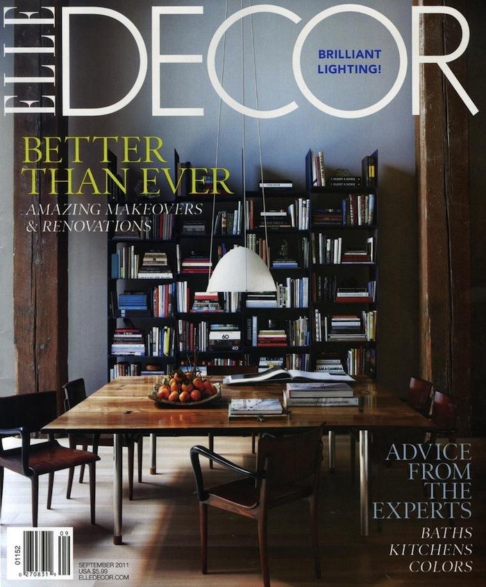 Elle decor usa subscriptions for Interior design magazines usa