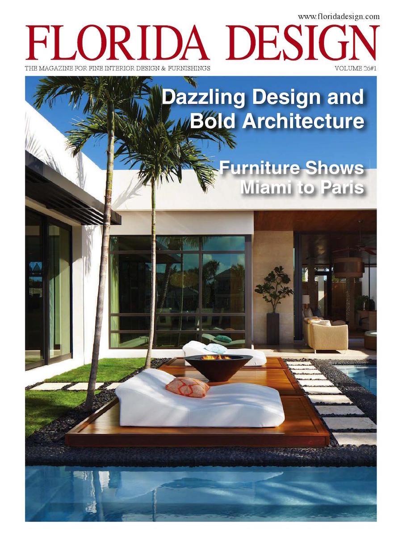 Miami interior design magazine for Florida design