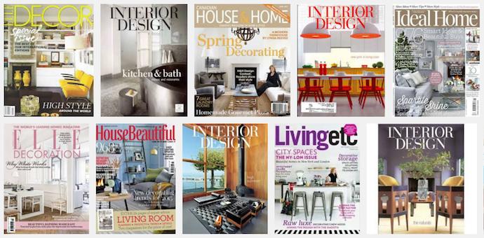 Best Interior Decorating Magazines: Must-Read: TOP 10 Best Interior Design Magazines In UK