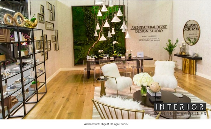AD Design Show 2017: Countless Ways to Celebrate Design - Architectural Digest Show ➤ To see more news about the Interior Design Magazines in the world visit us at www.interiordesignmagazines.eu #interiordesignmagazines #designmagazines #interiordesign @imagazines