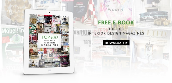 Download Free eBook Top 100 Interior Design Magazines ➤ To see more news about the Interior Design Magazines in the world visit us at www.interiordesignmagazines.eu #interiordesignmagazines #designmagazines #interiordesign @imagazines top 100 interior design magazines Download Free eBook Top 100 Interior Design Magazines Download Free eBook Top 100 Interior Design Magazines