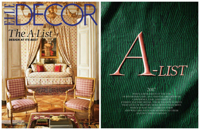 Elle Decor Interior Designers elle decor a-list 2017: meet the best interior designers of