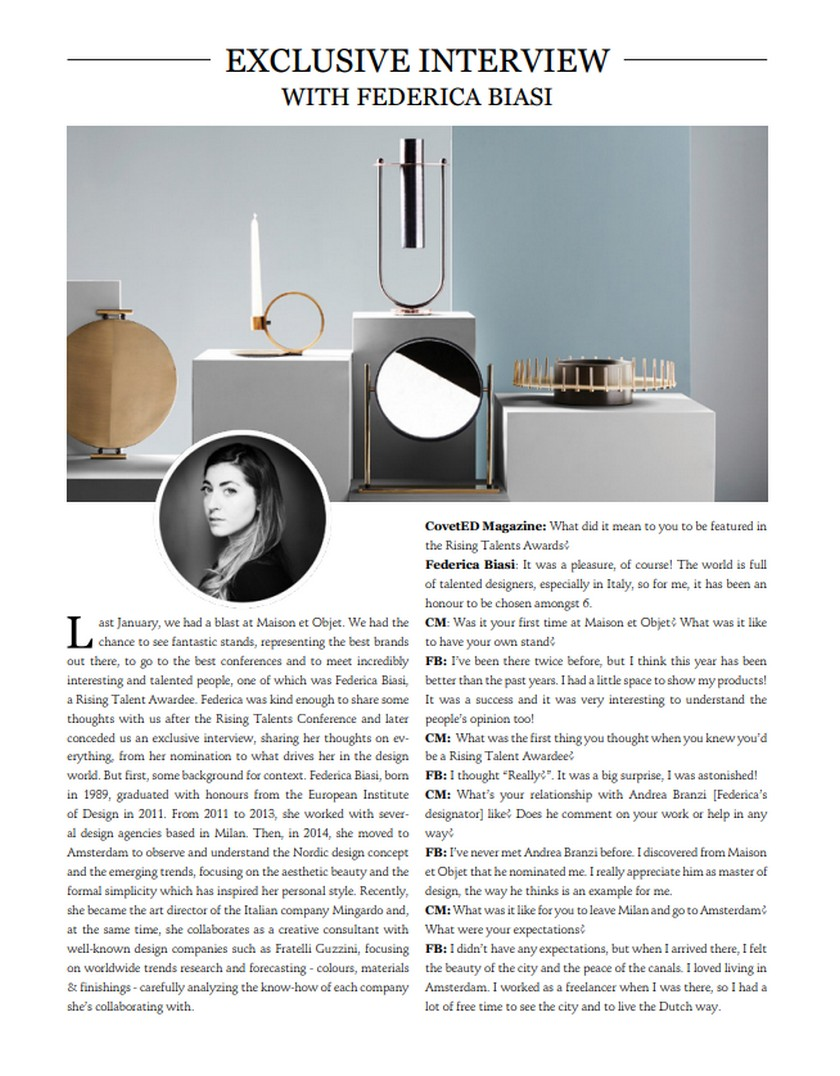 Your Favorite Luxury Brands at CovetED Magazine New Issue! Your Favorite Luxury Brands at CovetED Magazine New Issue 1 1