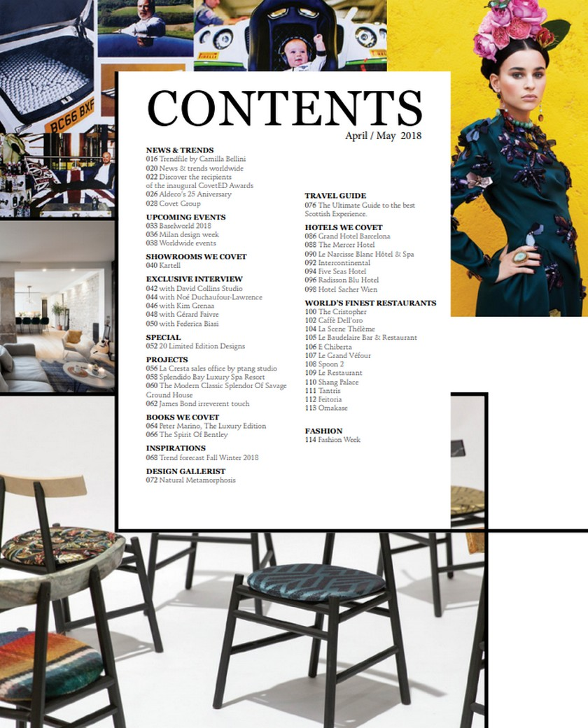 Your Favorite Luxury Brands at CovetED Magazine New Issue! Your Favorite Luxury Brands at CovetED Magazine New Issue 2