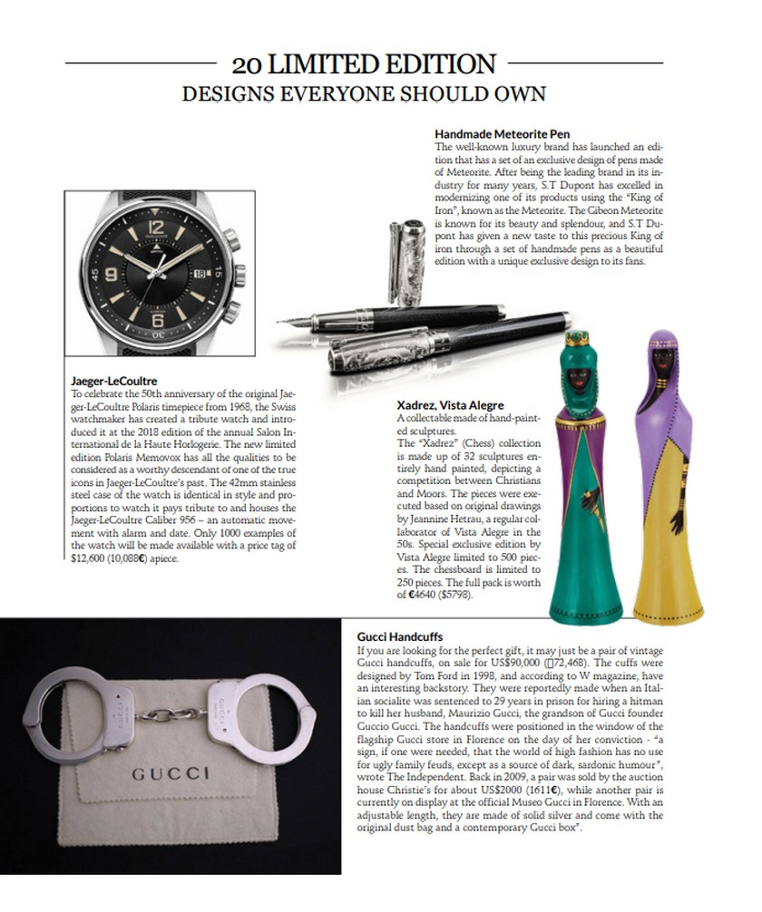 Your Favorite Luxury Brands at CovetED Magazine New Issue! Your Favorite Luxury Brands at CovetED Magazine New Issue 6 1