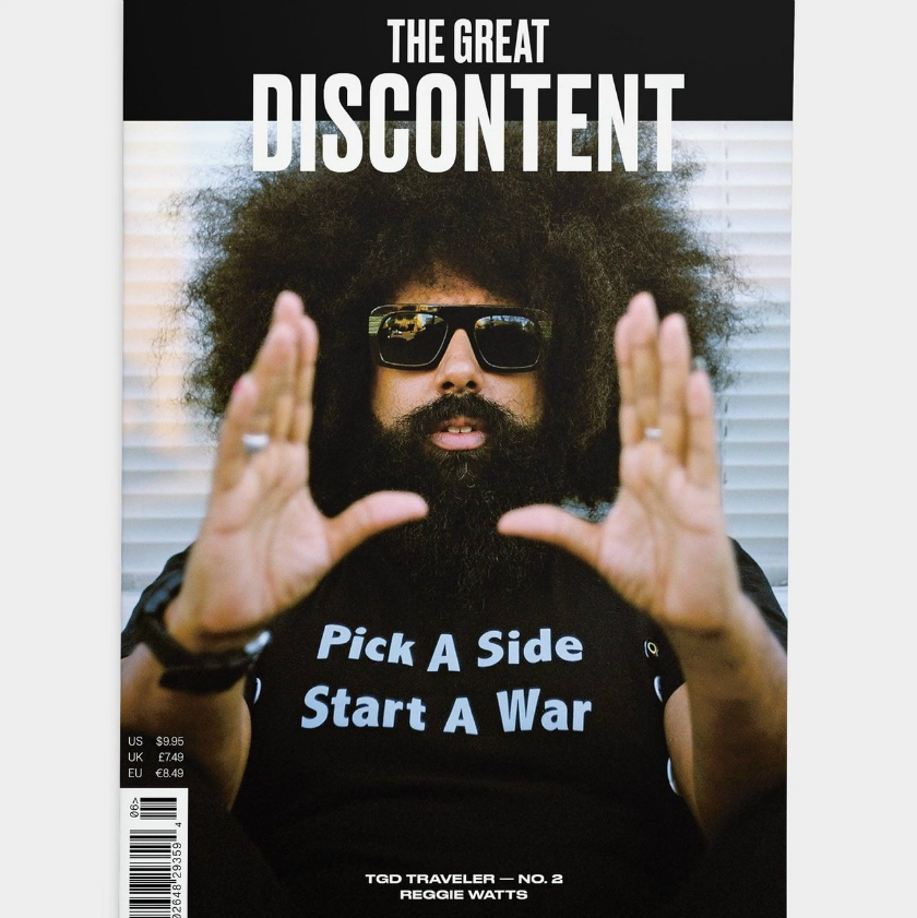 5 of the Best Independent Magazines for the Creative Types independent magazines 5 of the Best Independent Magazines for the Creative Types the great discontent traveler reggie watts issue no