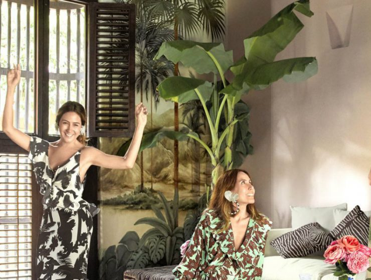 interior decoration Colombian Fashion Designer Creates Unique Interior Decoration main 740x560