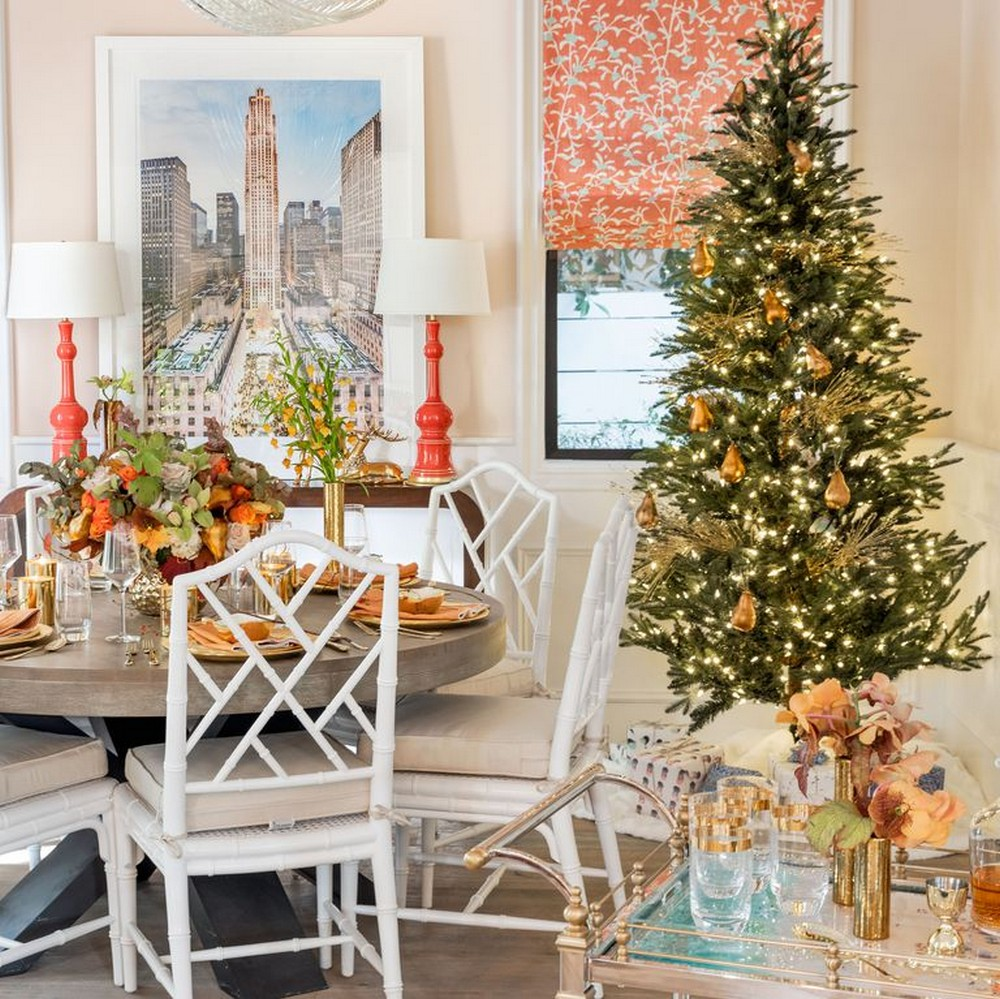 house beautiful shows a dreamy dining room decor for this christmas rh interiordesignmagazines eu