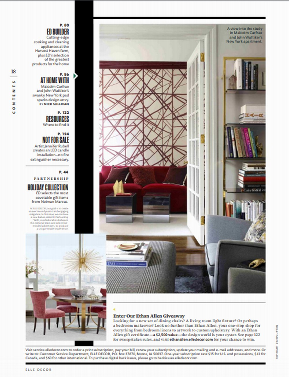 Elle Decor This Week Elle Decor December Issue Is Dress To Impress! This Week Elle Decor December Issue Is Dress To Impress 7