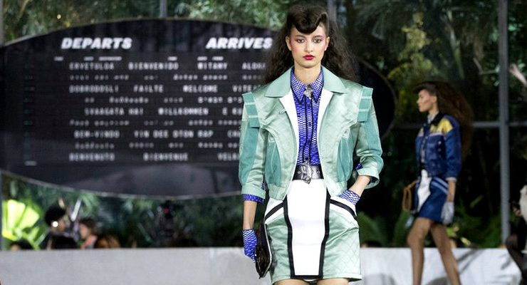 architectural digest Architectural Digest Unvailed The First Photos Of Louis Vuitton's Show Architectural Digest Showcased The Louis Vuitton 2020 Cruise Runway capa 740x400