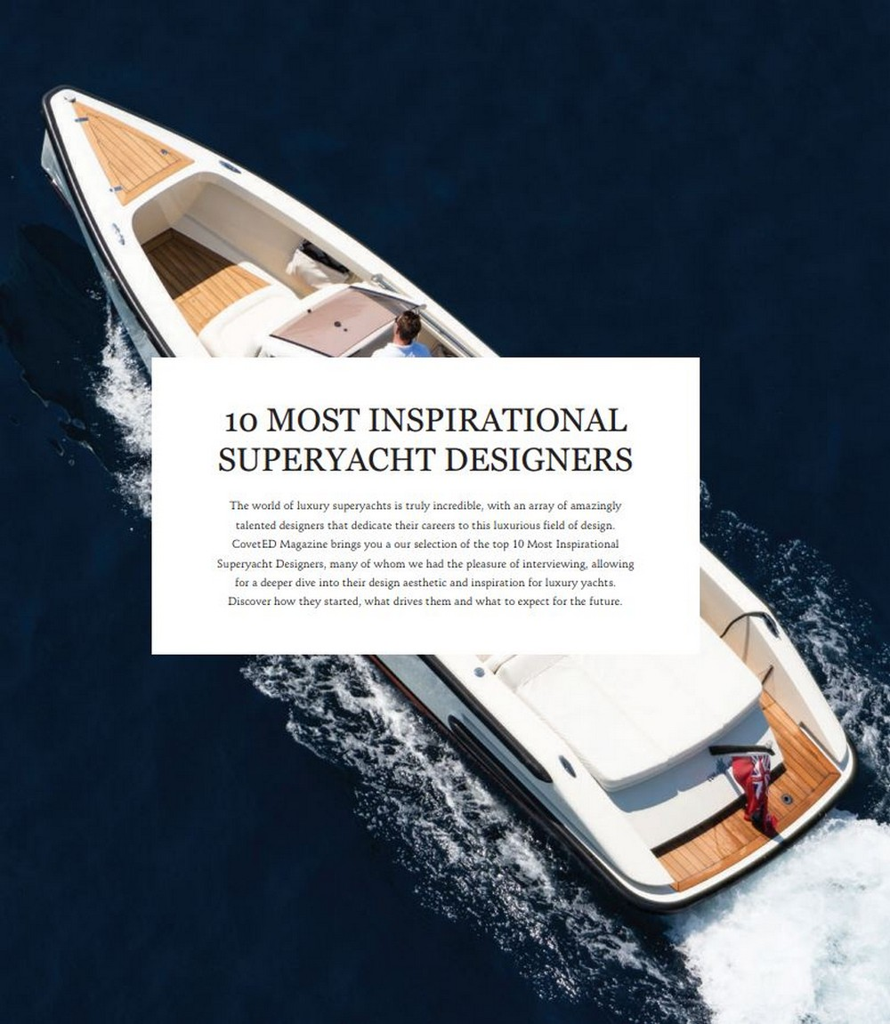 Inside The Luxury Design And Yacht Lifestyle With CovetED's 15th Issue luxury design Inside The Luxury Design And Yacht Lifestyle With CovetED's 15th Issue Inside The Luxury Design And Yacht Lifestyle With CovetEDs 15th Issue 6