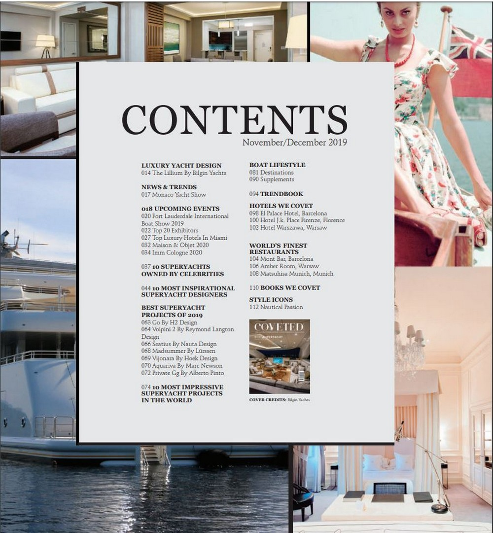 Inside The Luxury Design And Yacht Lifestyle With CovetED's 15th Issue luxury design Inside The Luxury Design And Yacht Lifestyle With CovetED's 15th Issue Inside The Luxury Design And Yacht Lifestyle With CovetEDs 15th Issue