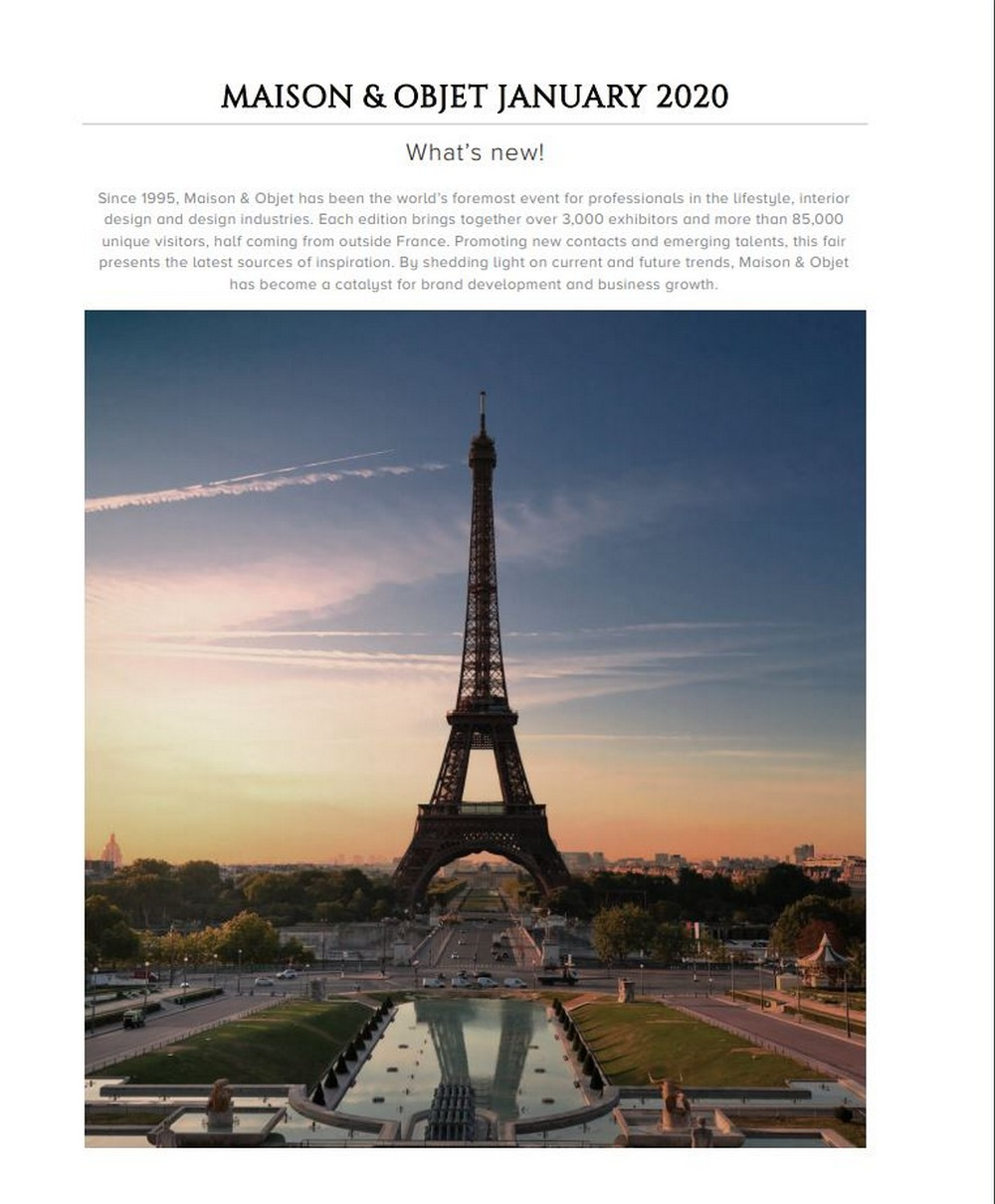 Maison et Objet 2020 - Here Is Why You Should By CovetED's 16th Issue! maison et objet Maison et Objet 2020 – Here Is Why You Should By CovetED's 16th Issue! Maison et Objet 2020 Here Is Why You Should By CovetEDs 16th Issue 3