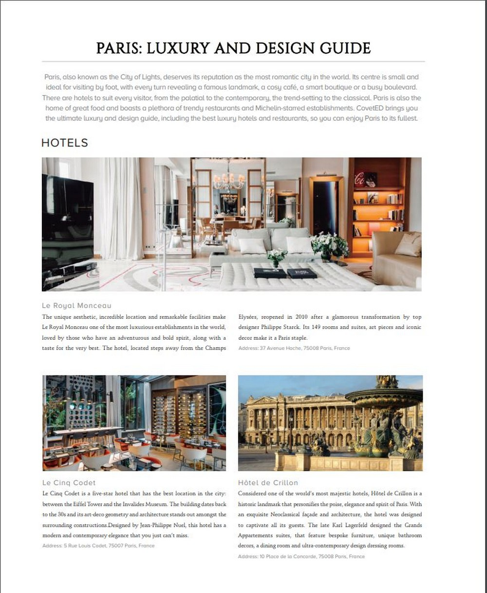 Maison et Objet 2020 - Here Is Why You Should By CovetED's 16th Issue! maison et objet Maison et Objet 2020 – Here Is Why You Should By CovetED's 16th Issue! Maison et Objet 2020 Here Is Why You Should By CovetEDs 16th Issue 4