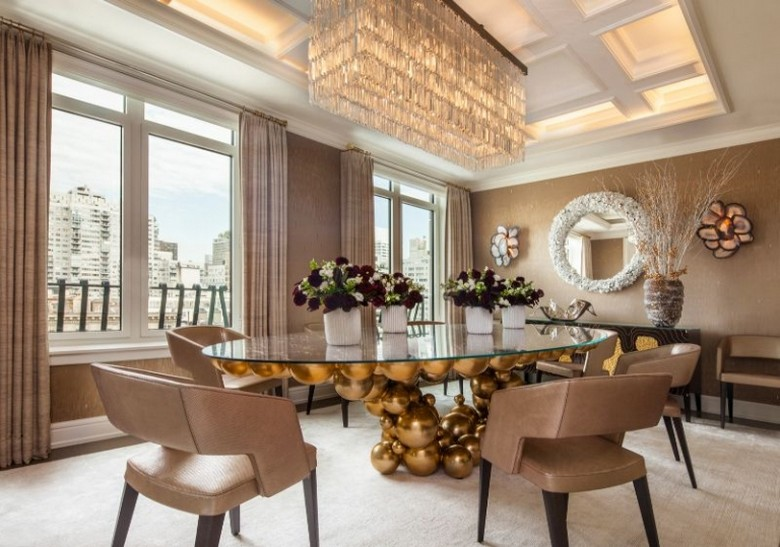 Arthur Dunman Designed Luxury Penthouse in NYC for Jed Johnson Studio Arthur Dunman Designed Luxury Penthouse in NYC for Jed Johnson Studio 4