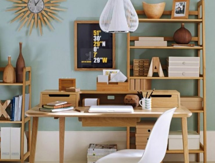 Home Office Ideas – How to get the Mid-Century Vibe Home Office Ideas How to get the Mid Century Vibe 1 1 740x560