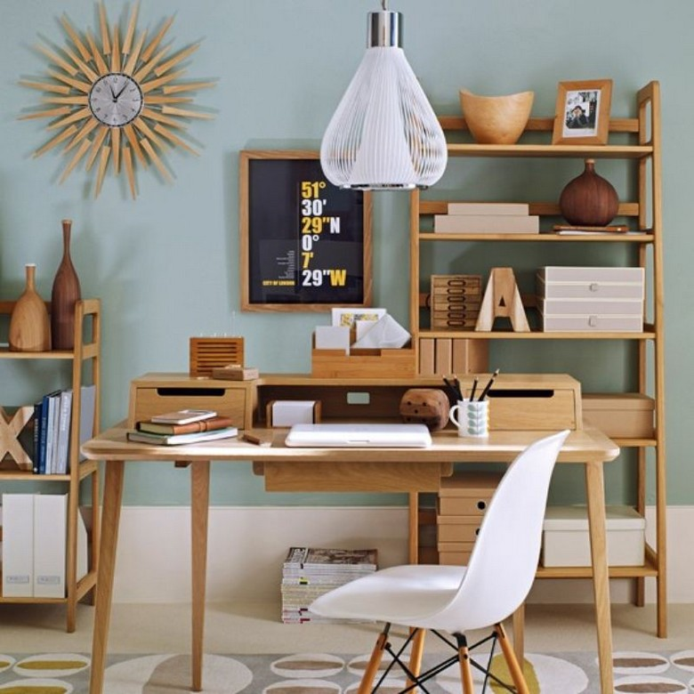 Home Office Ideas – How to get the Mid-Century Vibe Home Office Ideas How to get the Mid Century Vibe 1