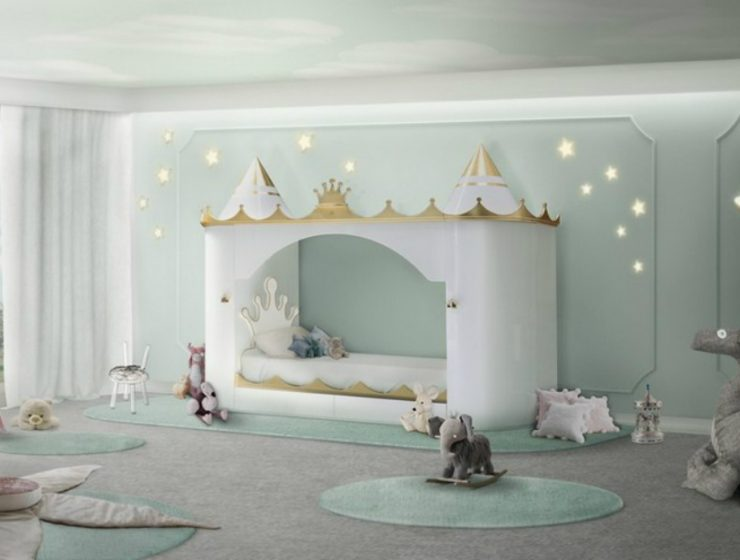 Kids Bedroom Ideas – Hot to get a Cinderella-Inspired Bedroom Kids Bedroom Ideas Hot to get a Cinderella Inspired Bedroom 2 1 740x560