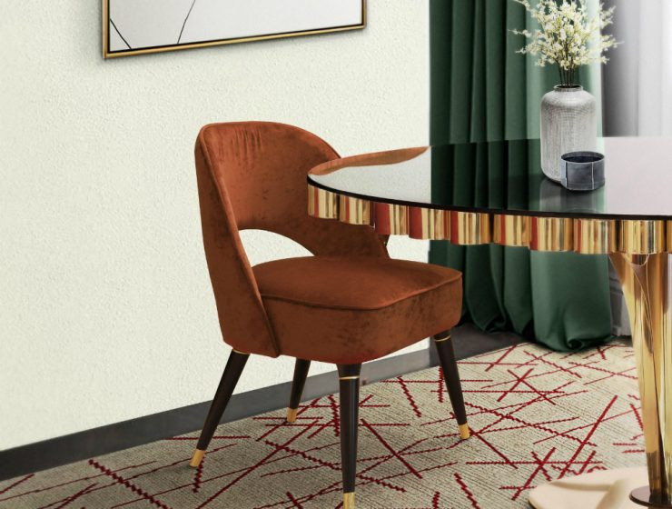Upgrade Your Dining Room Decor With Orange Dining Chairs! ambience 82 HR master 740x560