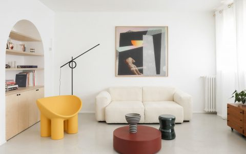 minimalist interior design Minimalist Interior Design: Fall In Love With This 70's French Apartment  5a92414b3918937d50f10215cd4ca617 480x300