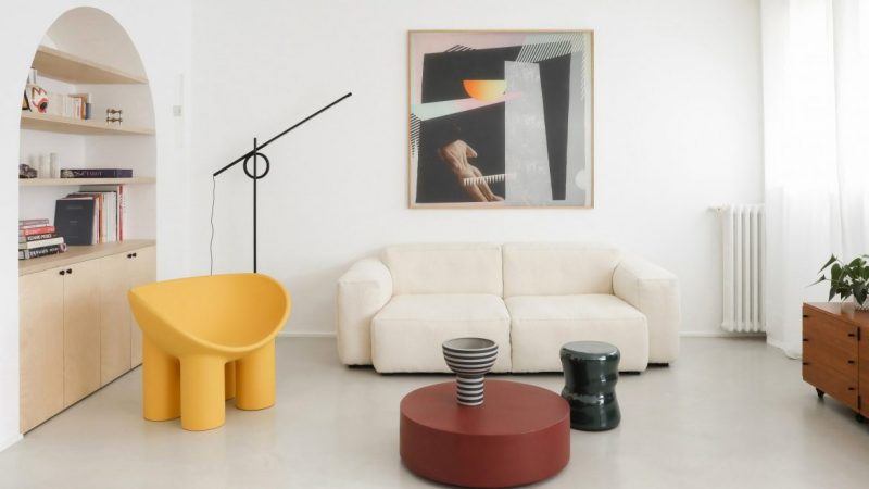 minimalist interior design Minimalist Interior Design: Fall In Love With This 70's French Apartment  minimalist interior design fall love with this 70s french apartment 5