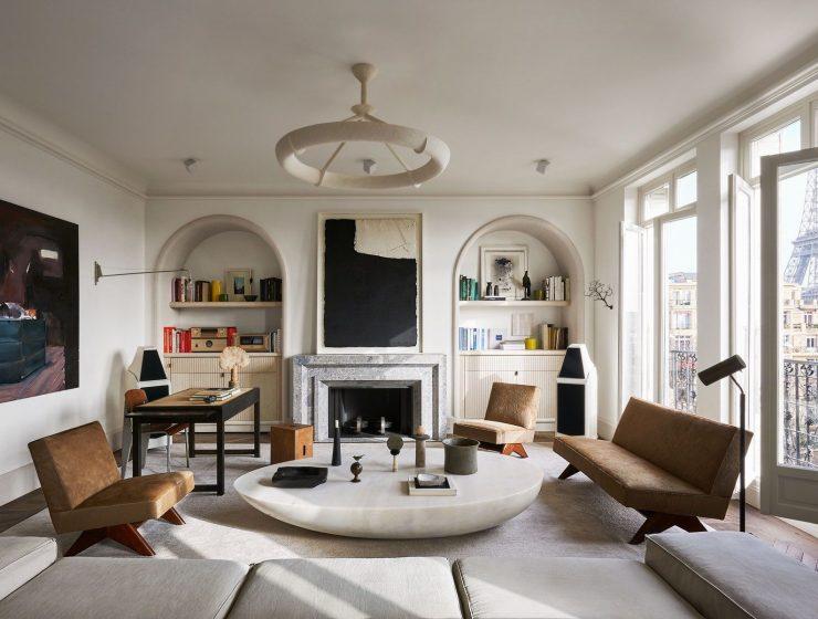 joseph dirand Step Inside Joseph Dirand's Paris Apartment 1e51c3eb7d8923556c22a68fe976778f 740x560