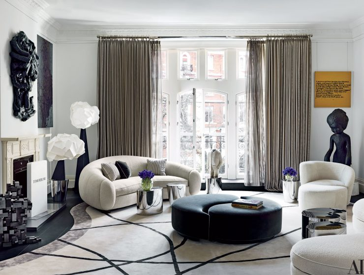 françois catroux Celebrate Design With François Catroux, The Iconic French Interior Designer London Townhouse 08 740x560