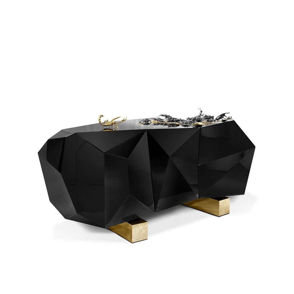 luxury credenzas Luxury Credenzas: Why Black Interiors Are Always On Trend luxury credenzas why black interiors are always trend 12