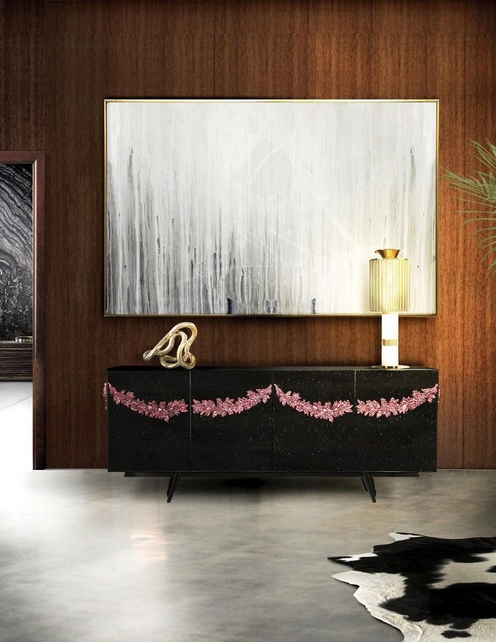 Luxury Credenzas: Why Black Interiors Are Always On Trend luxury credenzas Luxury Credenzas: Why Black Interiors Are Always On Trend luxury credenzas why black interiors are always trend 5