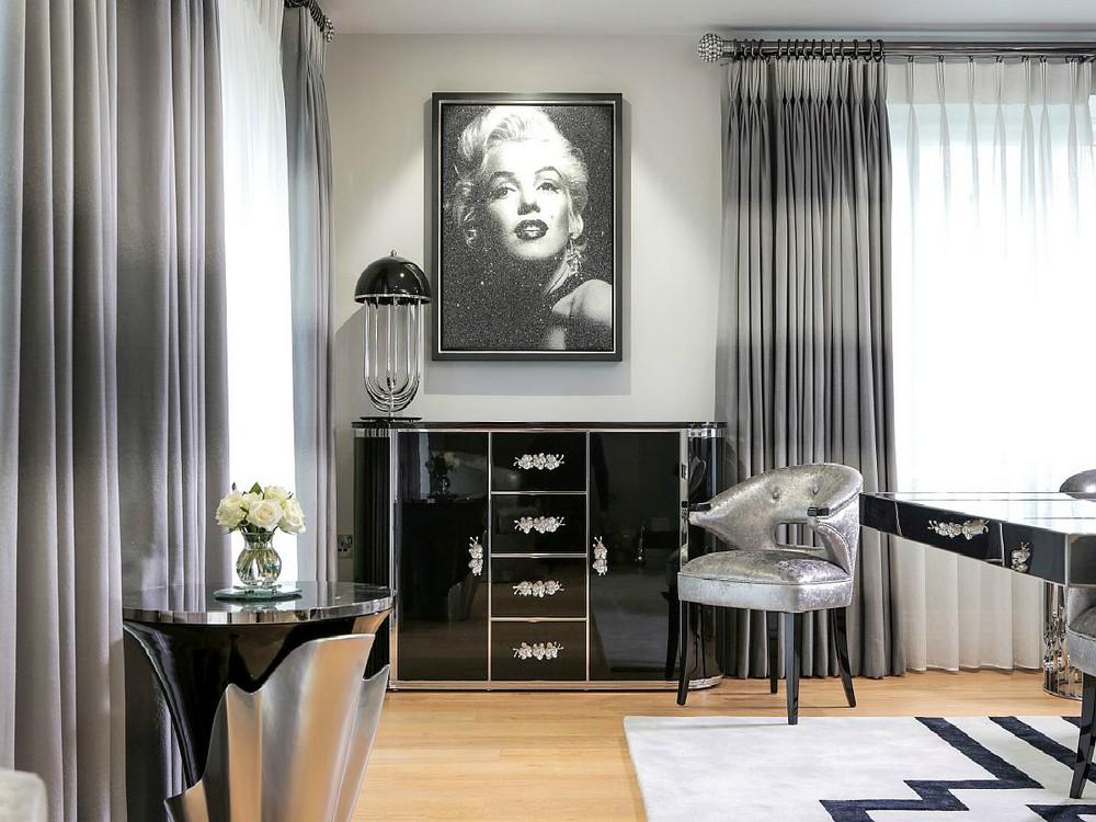 luxury credenzas Luxury Credenzas: Why Black Interiors Are Always On Trend luxury credenzas why black interiors are always trend 9