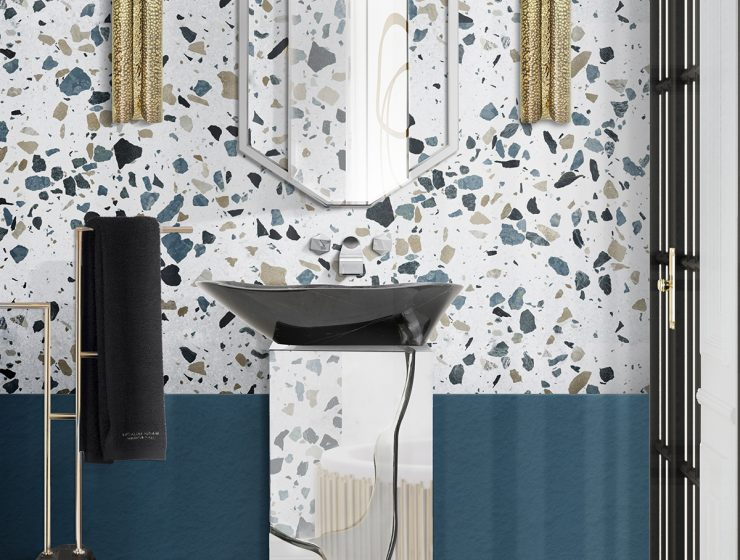 terrazzo Terrazzo: The Design Trend Your Bathroom Needs terrazzo the design trend your bathroom needs 2 740x560