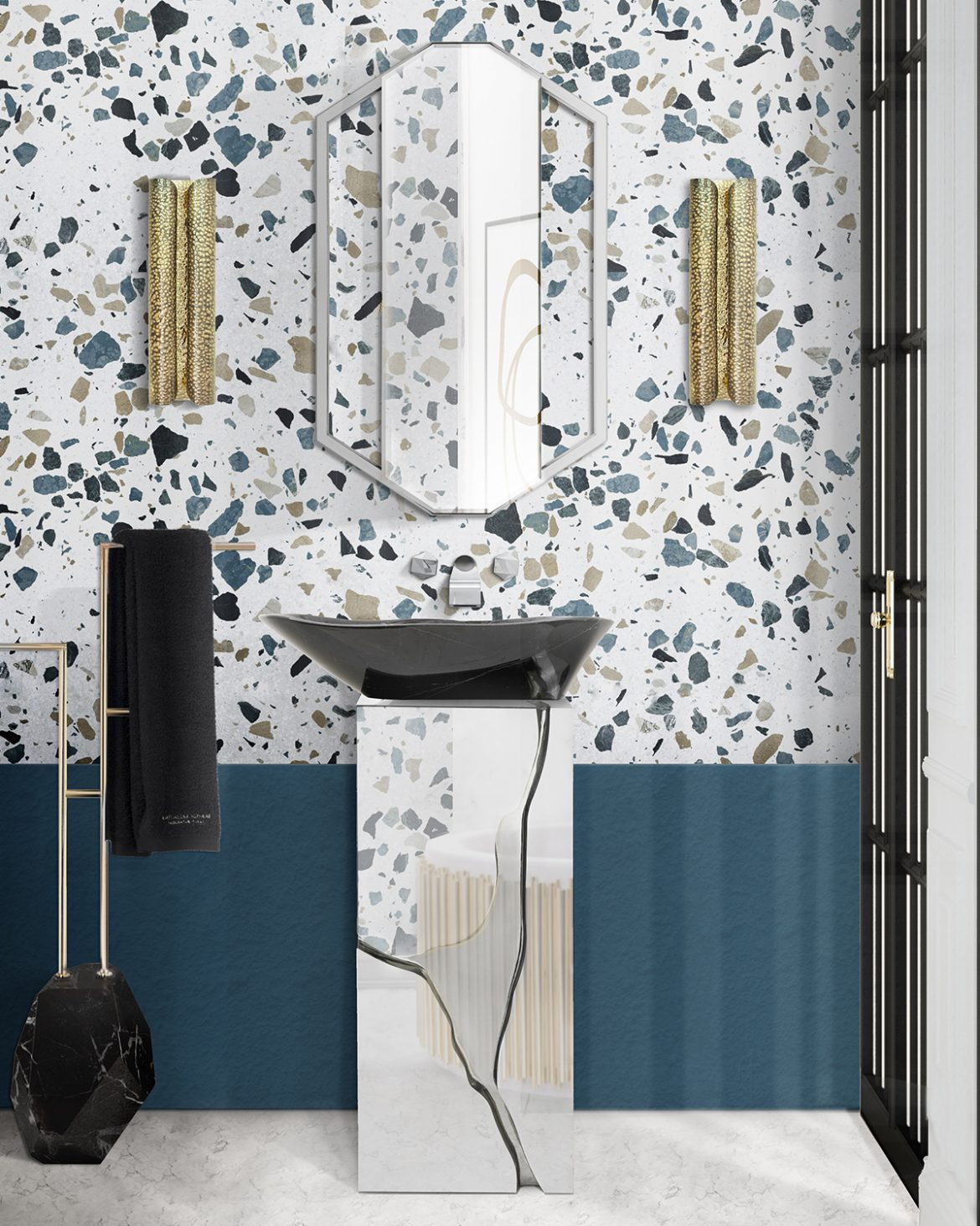 Terrazzo: The Design Trend Your Bathroom Needs terrazzo Terrazzo: The Design Trend Your Bathroom Needs terrazzo the design trend your bathroom needs 2