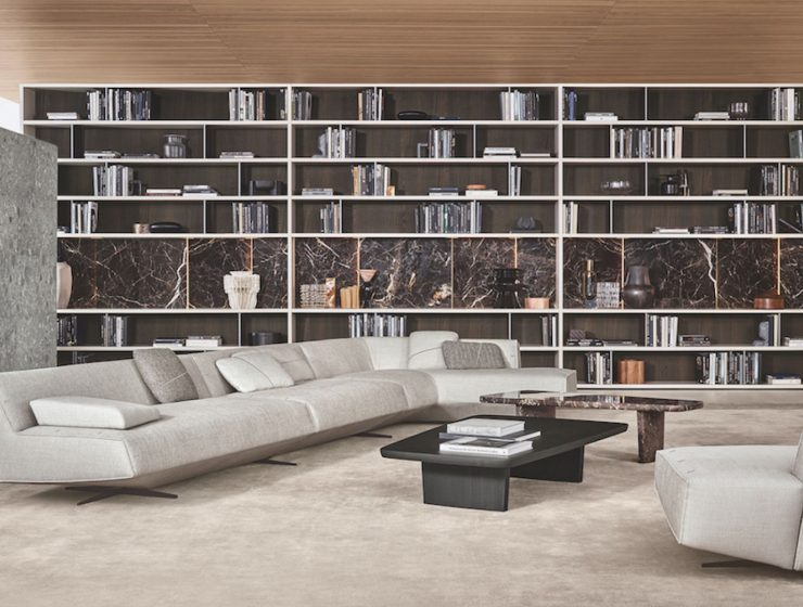italian furniture brands Top Luxury Italian Furniture Brands: THE COMPLETE LIST! 15 inspirujacych pomyslow na biblioteczke w mieszkaniu 740x560