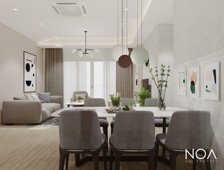 hanoi Top 13 Interior Designers From Hanoi NOA 740x560  Home NOA 740x560