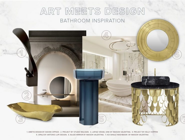 bathroom inspiration Bathroom Inspiration: When Art Meets Design  bathroom inspiration when art meets design 1 740x560