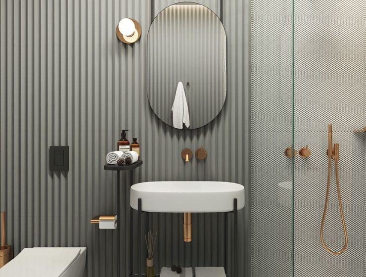 bathroom tile trends Discover Here The Hottest Bathroom Tile Trends 2021/2022 dfbe81e3dc17fbae208307bd5ec31759 740x560