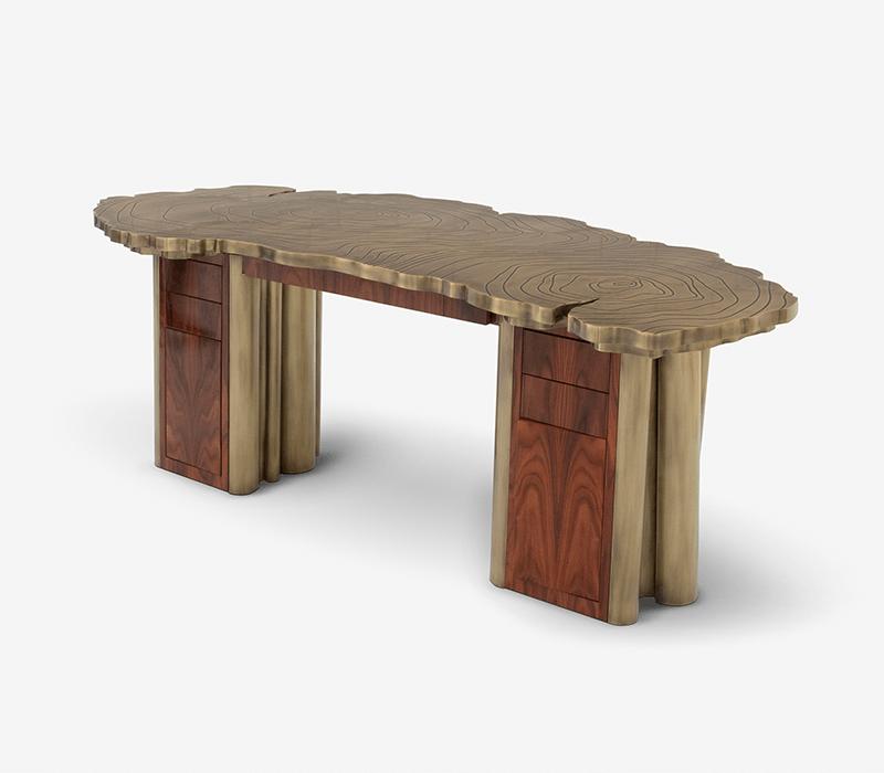 luxury desks Working From Home: 15 Luxury Desks You Can Buy Online FORTUNA