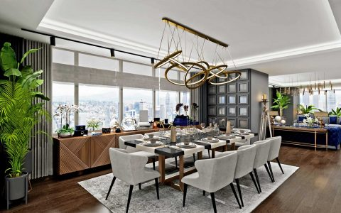 istanbul TOP Interior Designers From Istanbul Trump Tower Residence Sia Moore 26 480x300