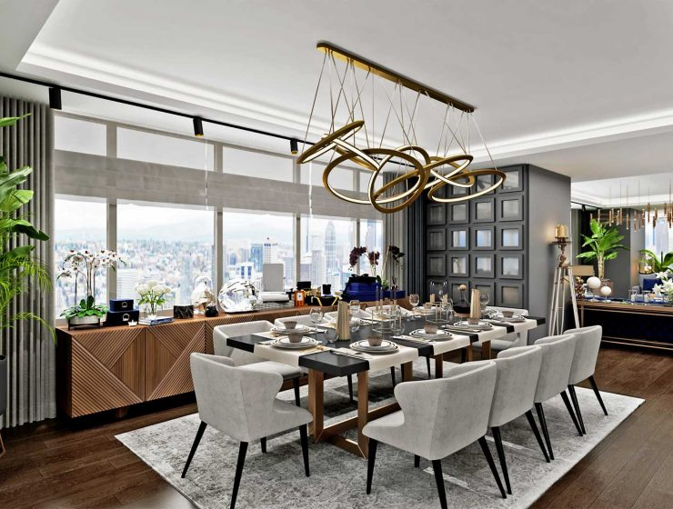 istanbul TOP Interior Designers From Istanbul Trump Tower Residence Sia Moore 26 740x560  Home Trump Tower Residence Sia Moore 26 740x560